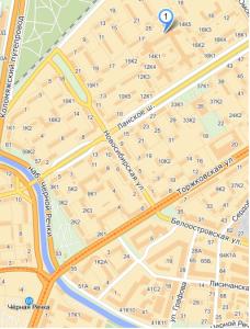 карта ланское